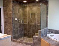frameless shower design